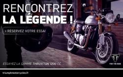 Essayez la nouvelle Thruxton 1200 cc !