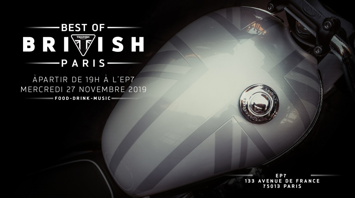 Soirée Triumph Best of British